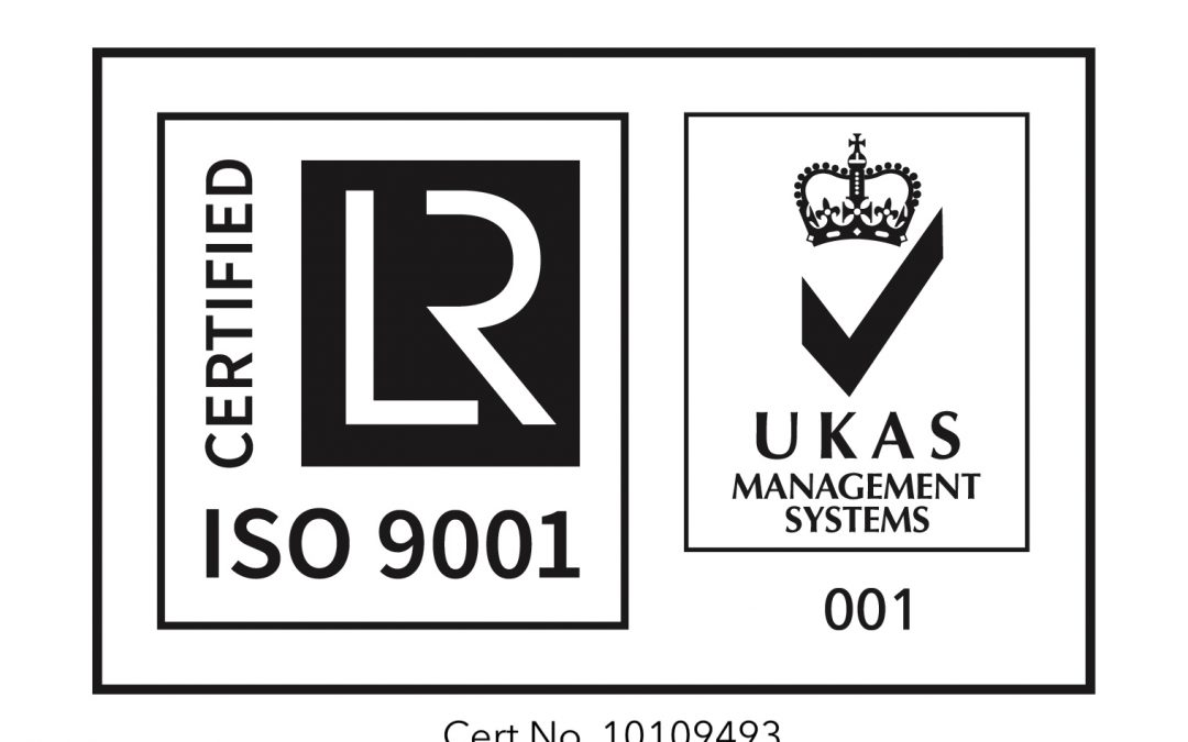 ISO 9001:2015 Accreditation Renewed until 2021